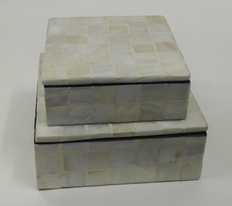 Mother of pearl -Boxes 5